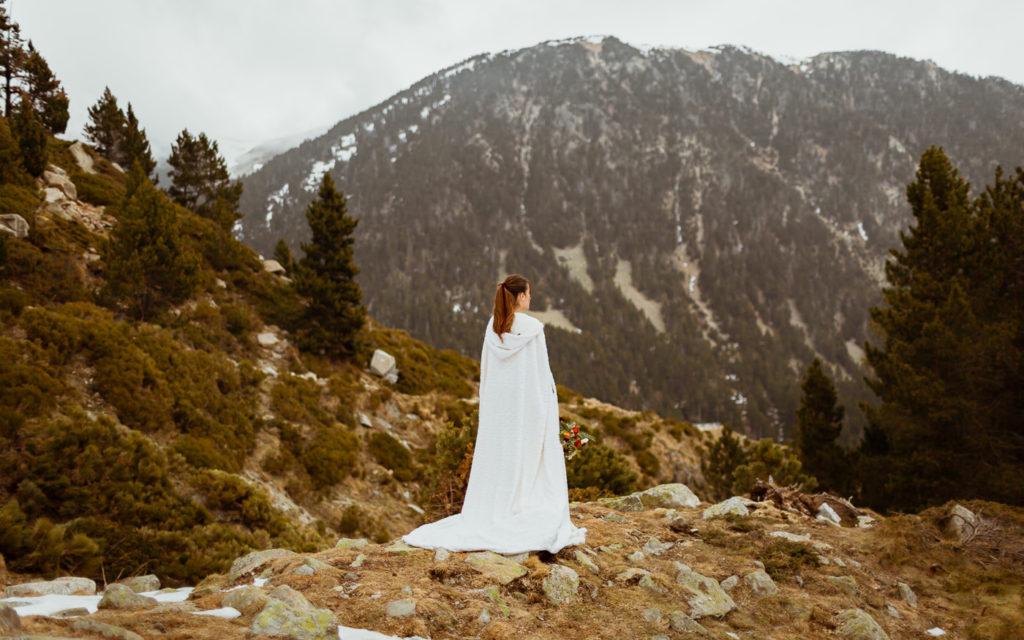 Shooting de inspiración en la montaña