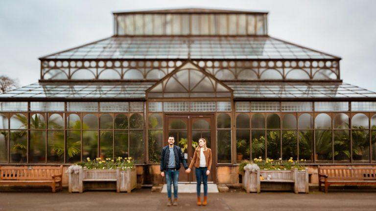 Sesión de fotos pre-boda en Glasgow