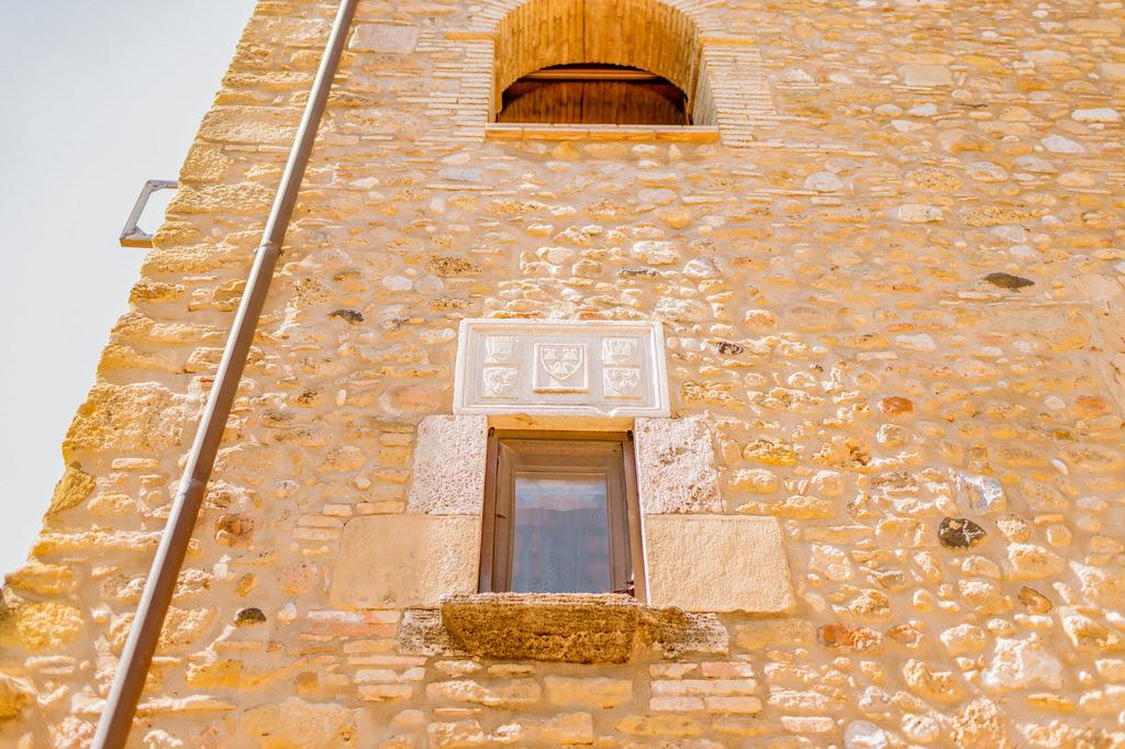 Detalle piedra en Mas Terrats