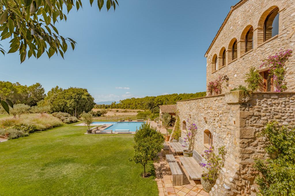 Mas Terrats, finca para bodas en Girona