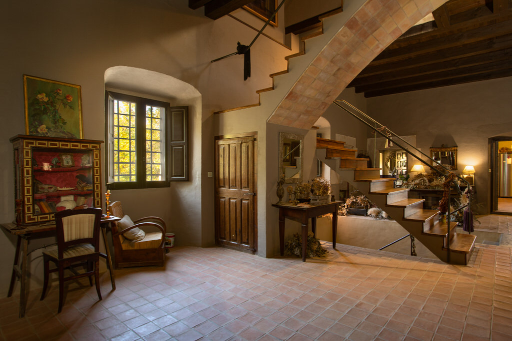 Primer piso de castillo para boda en Cortal Gran