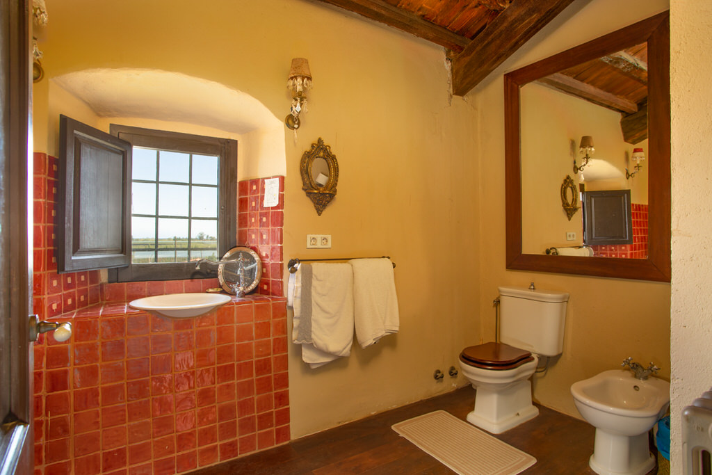 Baño primera habitación Cortal Gran