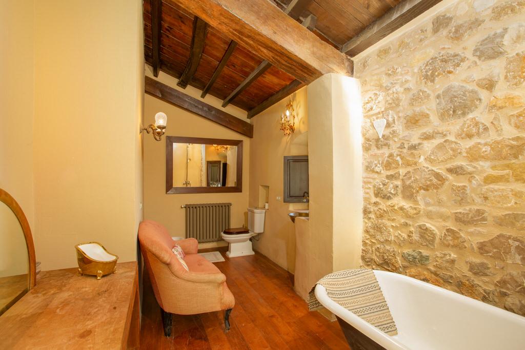 Baño principal de Cortal Gran
