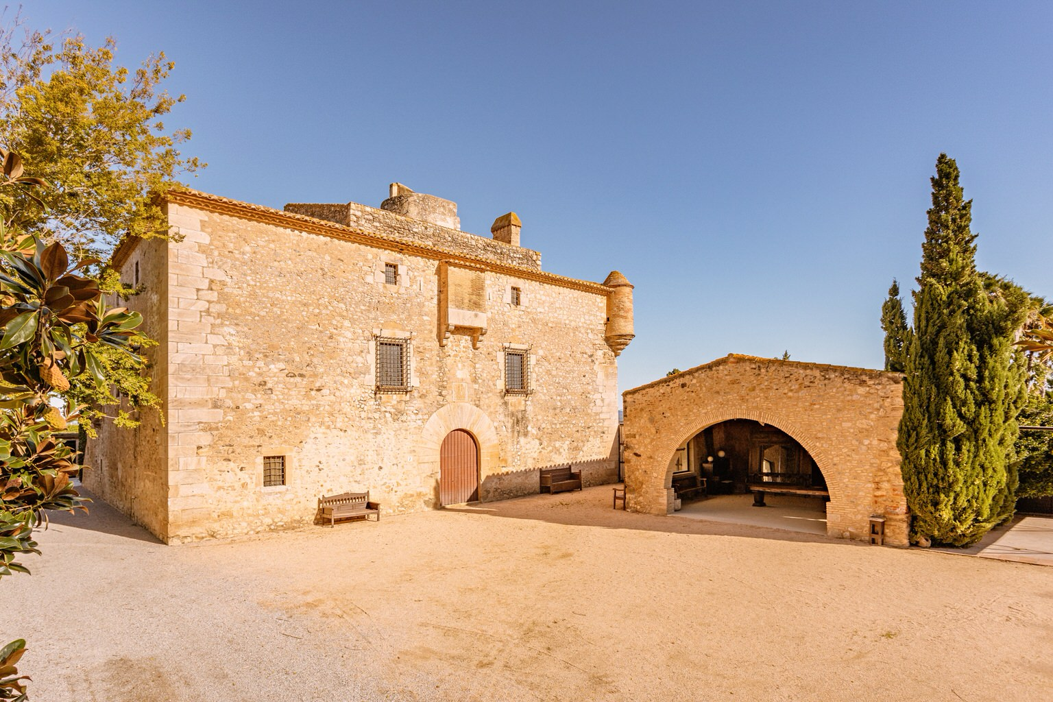 Castillo de boda en Cortal Gran