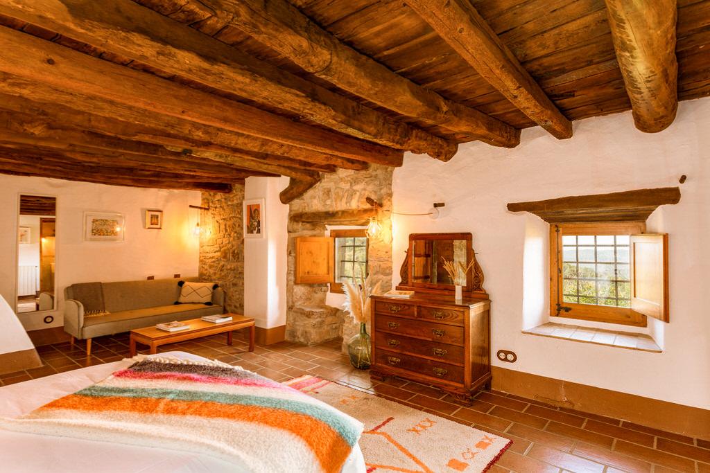 Habitación casa de turismo rural