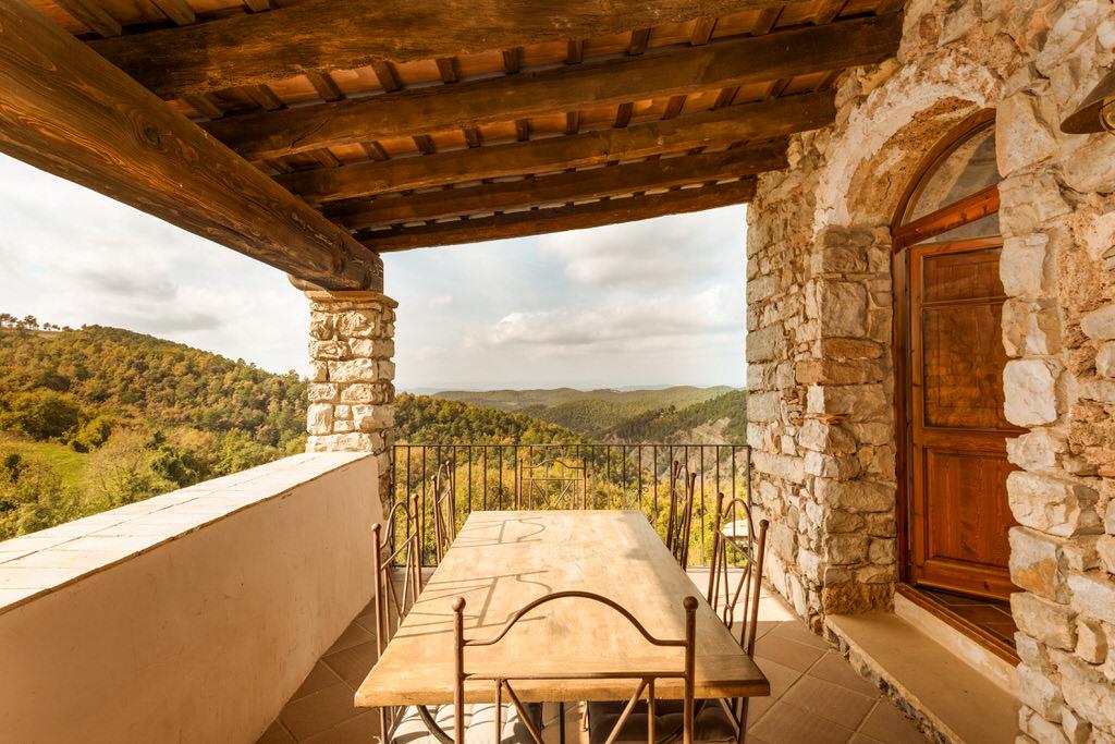 terraza Mas Casamitjana