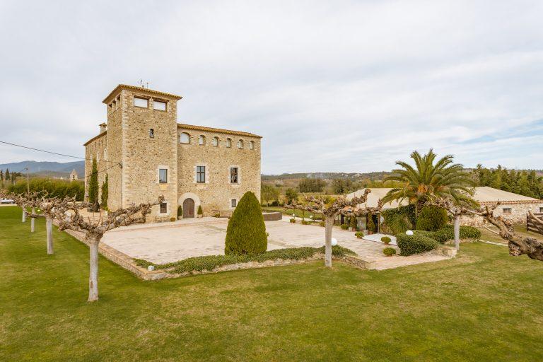 Castillo pare bodas Costa Brava