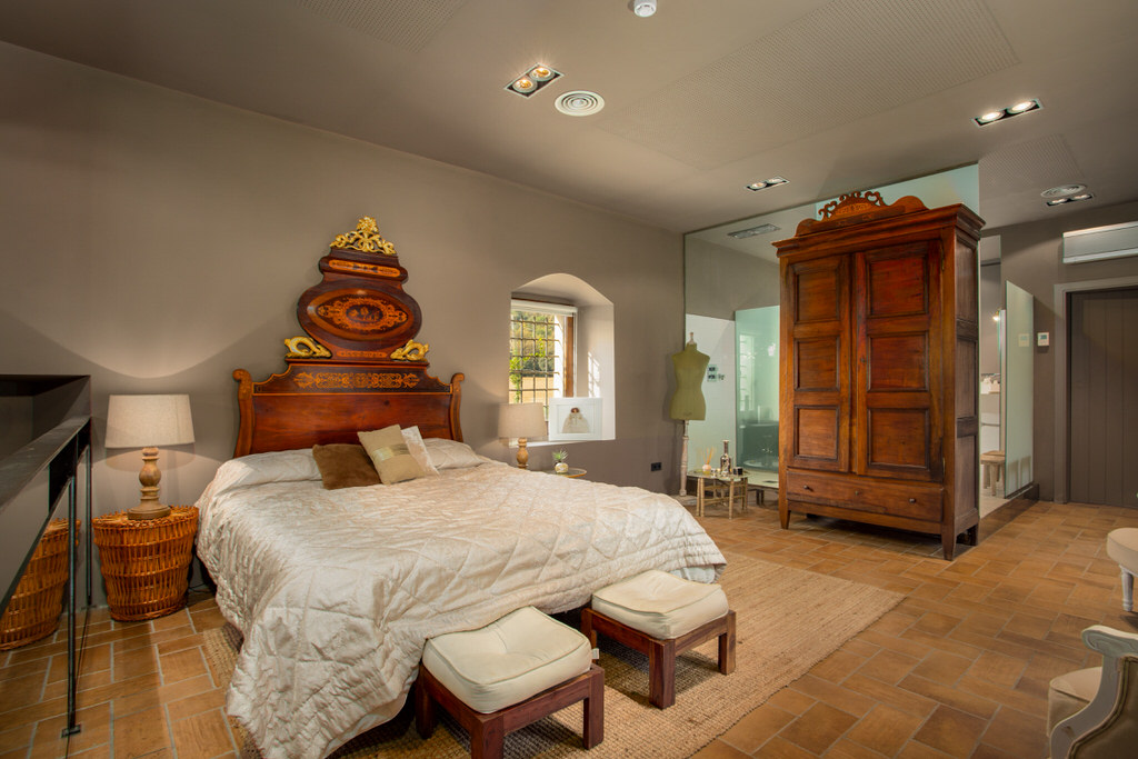 Habitación suite para boda en castell de sant gregori