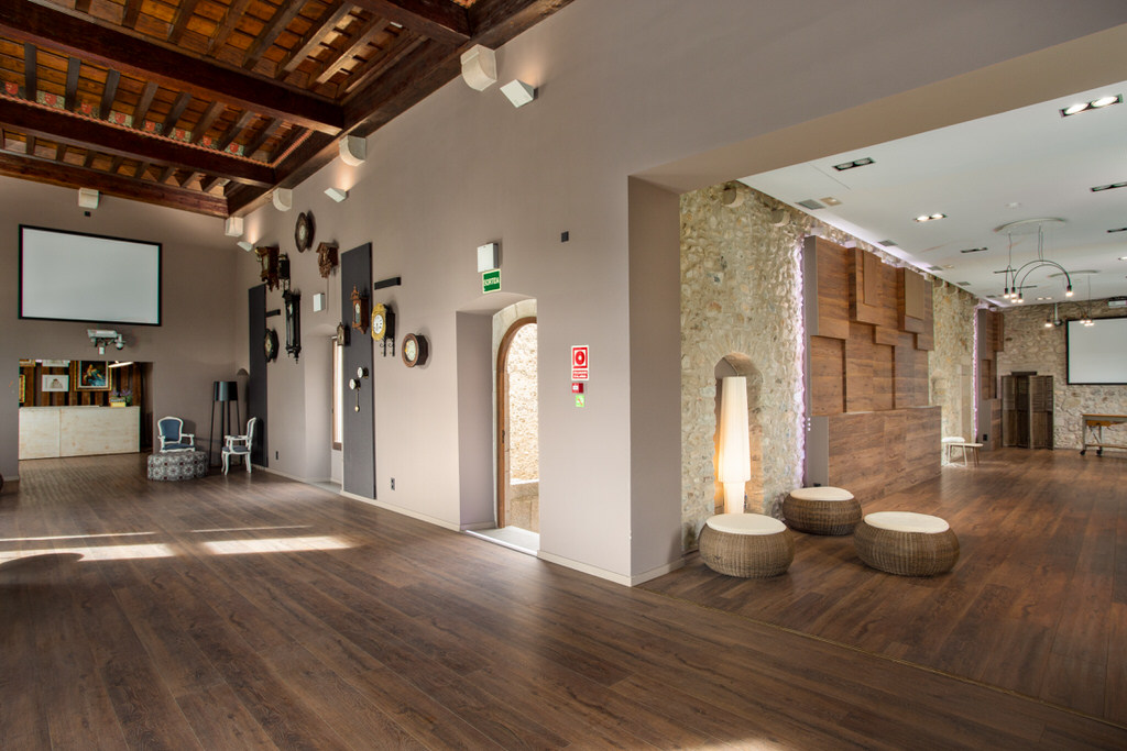 Salón gotico castillo para bodas