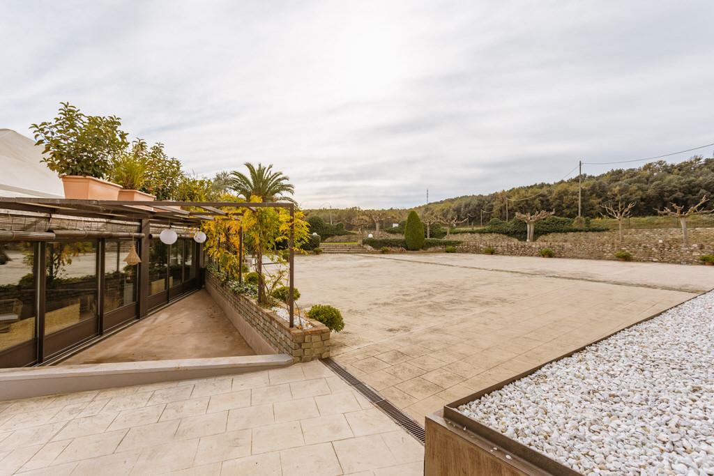 Patio exterior Castillo para boda en Girona